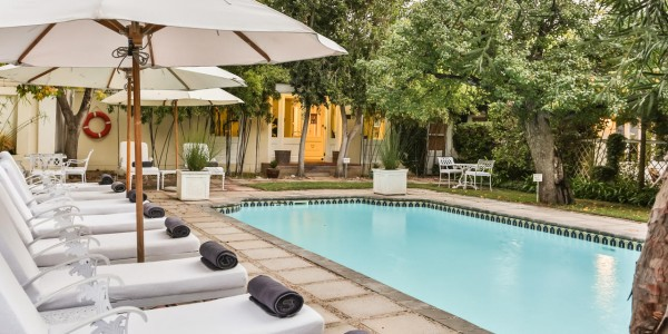 South Africa - The Garden Route - Rosenhof Country House - Pool