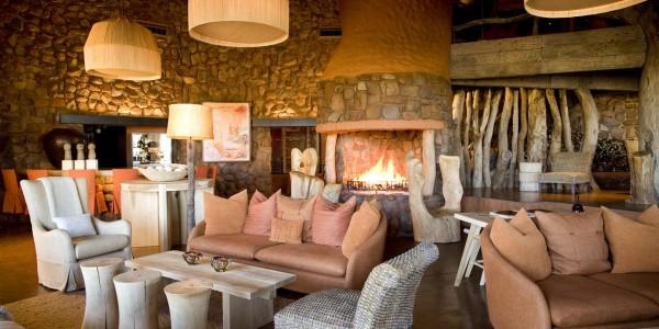 South Africa - The Kalahari - TSWALU The Motse - Lounge