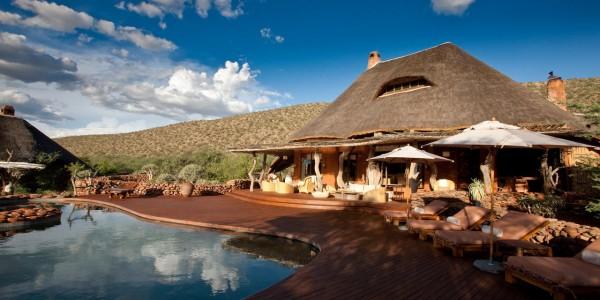 South Africa - The Kalahari - TSWALU The Motse - Pool Deck