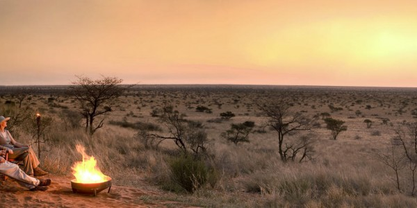 South Africa - The Kalahari - TSWALU The Motse - Sundowners