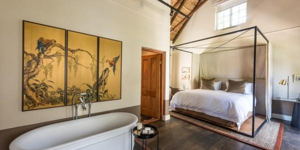 South Africa - Winelands - La Clé des Montagnes - Garden Room