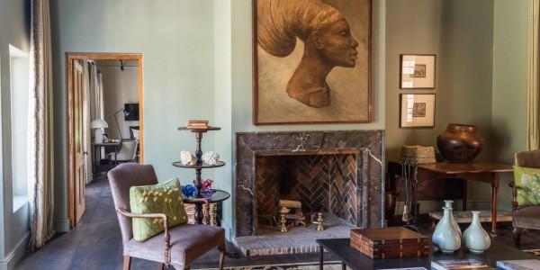 South Africa - Winelands - La Clé des Montagnes - Lodge Lounge