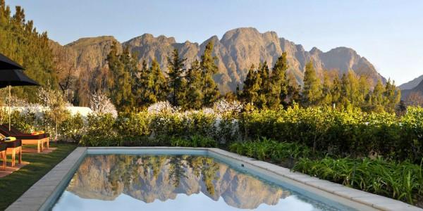 South Africa - Winelands - La Clé des Montagnes - Pool