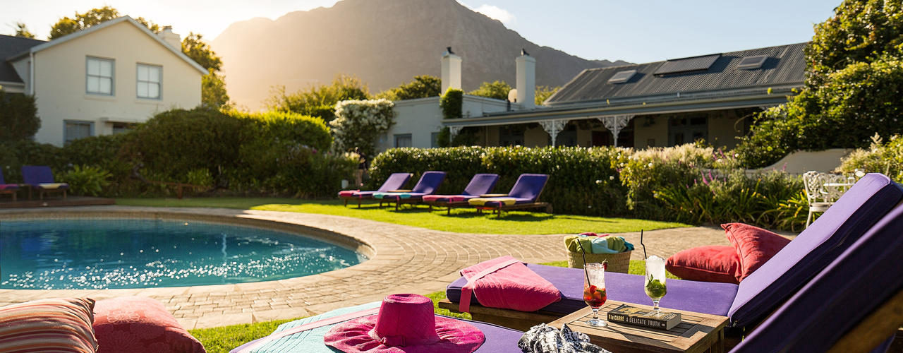 South Africa - Winelands - Le Quartier Francais - Pool