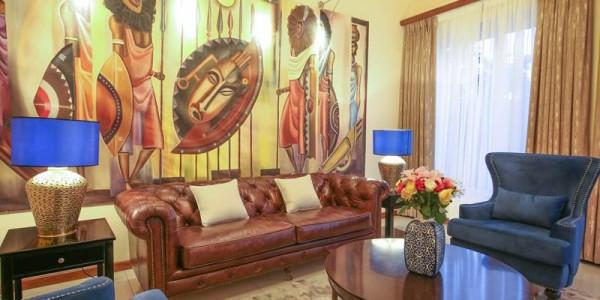 Uganda - Entebbe, Jinja & Kampala - Hotel No.5 - Inside