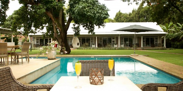Zimbabwe - Harare - Highlands House - Pool