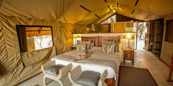 Zimbabwe - Hwange National Park - The Hide - Deluxe Tent Double