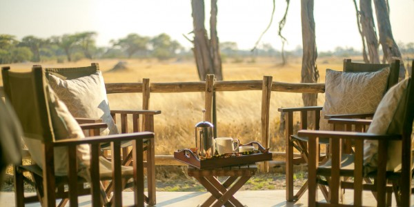 Zimbabwe - Hwange National Park - The Hide - Deluxe Tent Veranda View