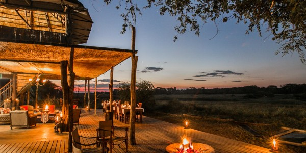 Zimbabwe - Hwange National Park - The Hide - Firepit