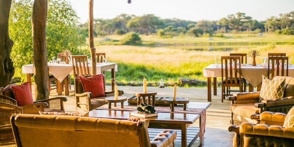Zimbabwe - Hwange National Park - The Hide - Lounge