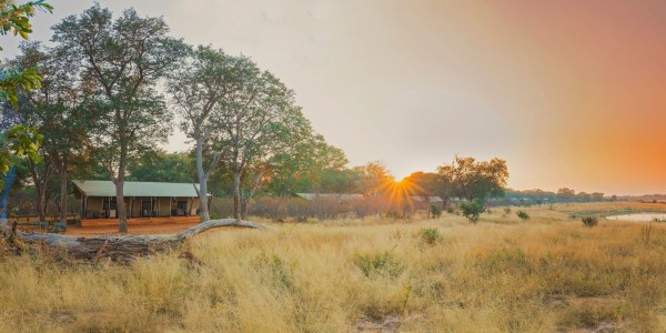 Zimbabwe - Hwange National Park - Verney's Camp - Panoramic