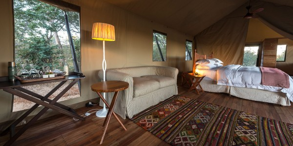 Zimbabwe - Hwange National Park - Verney's Camp - Room
