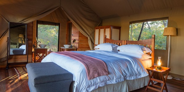 Zimbabwe - Hwange National Park - Verney's Camp - Tents