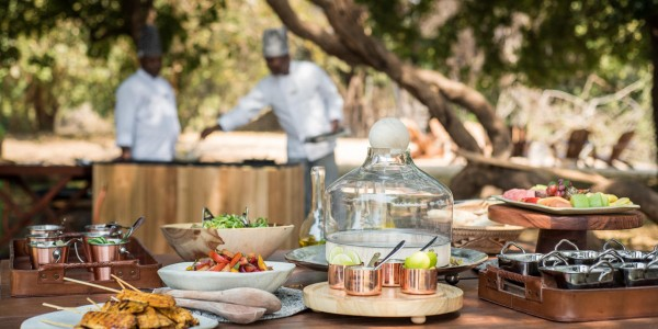 Zimbabwe - Mana Pools National Park - Chikwenya - Brunch