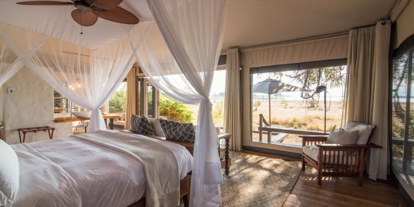 Zimbabwe - Mana Pools National Park - Chikwenya - Room