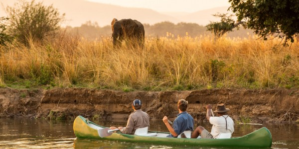 Zimbabwe - Mana Pools National Park - Greater Mana Expedition - Canoeing 2