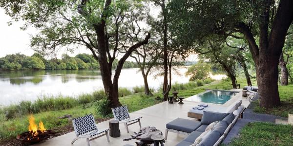 Zimbabwe - Victoria Falls - Matetsi River Lodge - River House 2