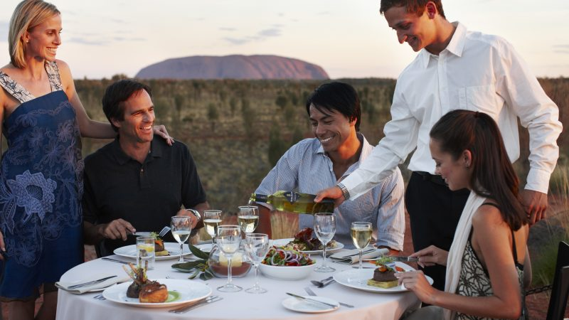 Sounds of Silence dinner - Credit Tourism Australia