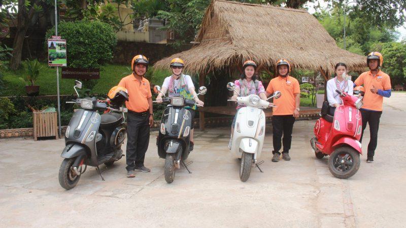 Siem Reap Vespa