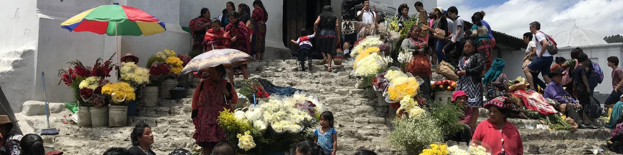 Chich market, Guatemala