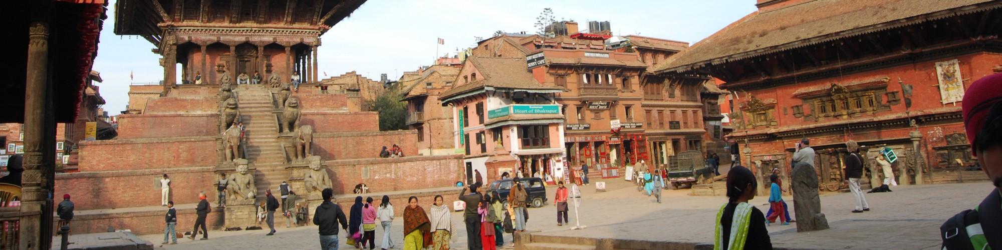 Five storied Nyatapola temple & Bhairavnath temple_Bhaktapur