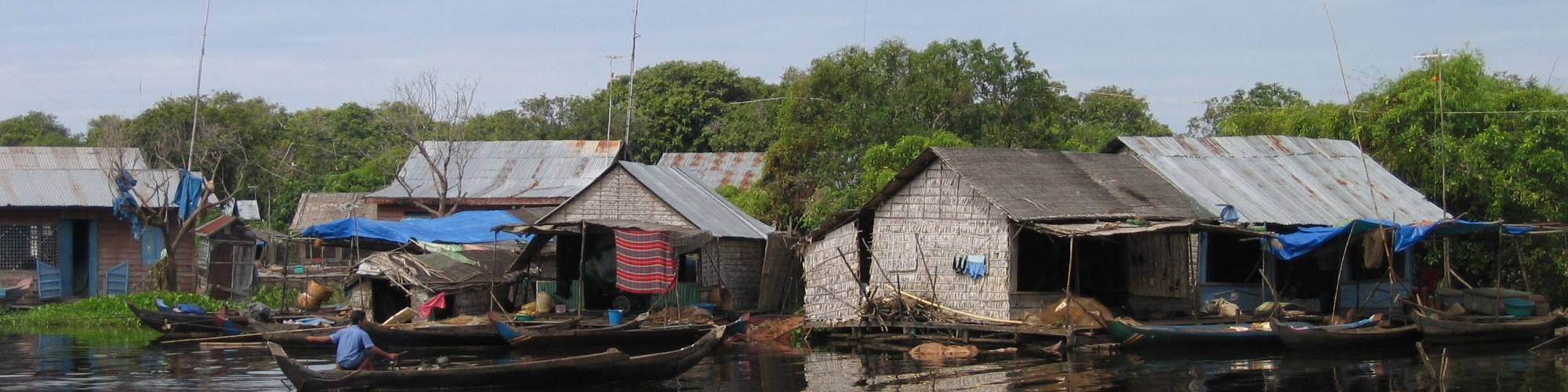 Floating Houses Tonle Sap Lake_Siem Reap_Cambodia