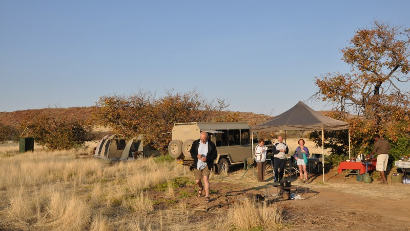 Mobile Camping in Namibia