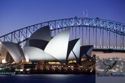 Opera House Harbour Bridge