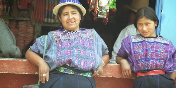Villagers from Lake Atitlan