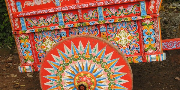 Oxcart in Sarchi
