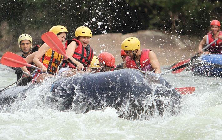 White water rafting on the Kelani River