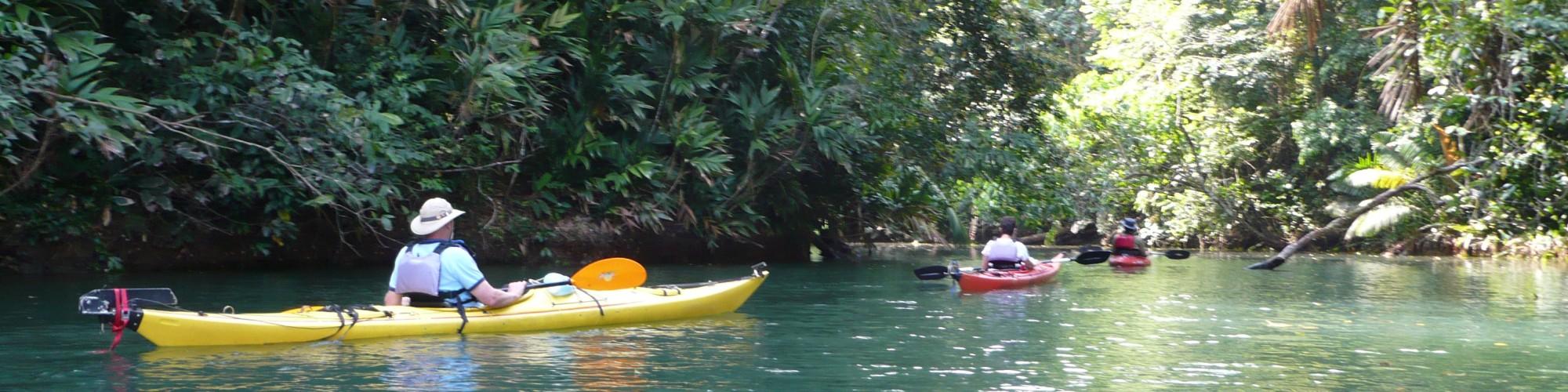 Kayaking in Panama