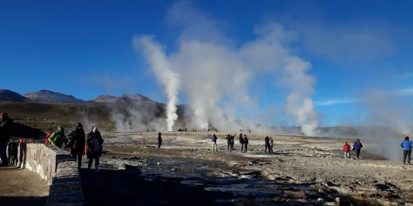 Tatio geysers, Atacama