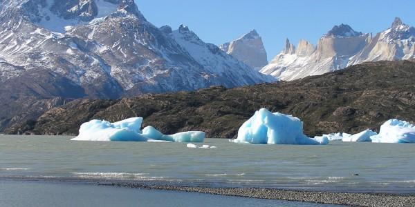 Lago Grey, Torres