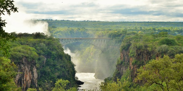 Zimbabwe - Victoria Falls - Bridge View