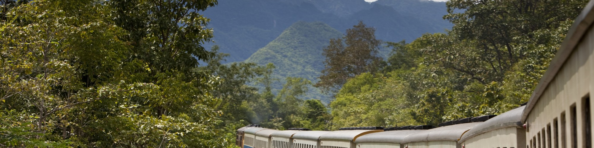 Thailand Burma Railway, Kanchanaburi, Thailand