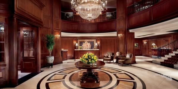 Chile - Santiago - Ritz Carlton - Lobby