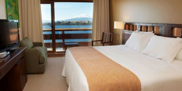 Chile - Santiago - The Lake District - Hotel Cumbres - Room