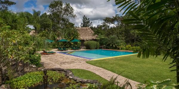 Belize - Cayo District - Blancaneaux Lodge - Pool