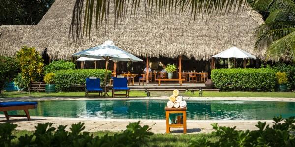 Belize - Placencia - Turtle Inn - Pool