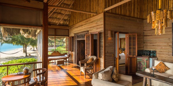 Belize - Placencia - Turtle Inn - Sea Front Room