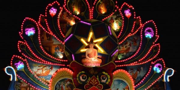 Vesak Festival in Colombo