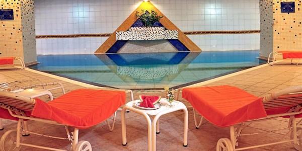 Bolivia - La Paz - Hotel Europa - Pool