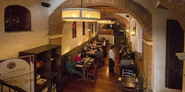 Bolivia - La Paz - La Casona - Restaurant