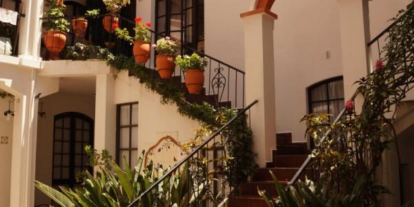 Bolivia - Sucre - Mi Pueblo Samary - Entrance