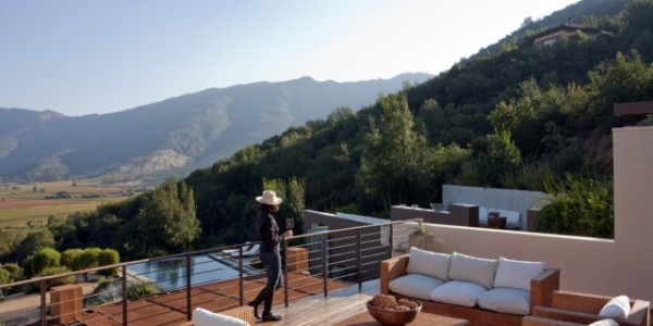 Chile - Winelands of Chile - Clos Apalta Residence - View