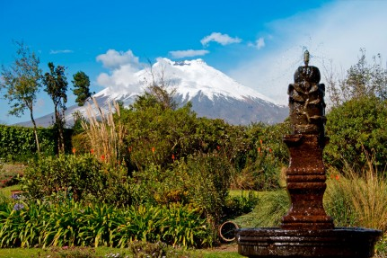 Ecuador - The Avenue of Volcanoes - Hacienda San Agustin de Callo - Volcano