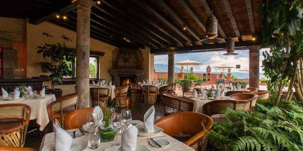Mexico - Colonial Heartlands - Villa Montana - Restaurant