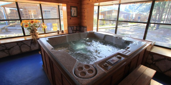 Mexico - Copper Canyon - The Lodge at Creel - Jacuzzi