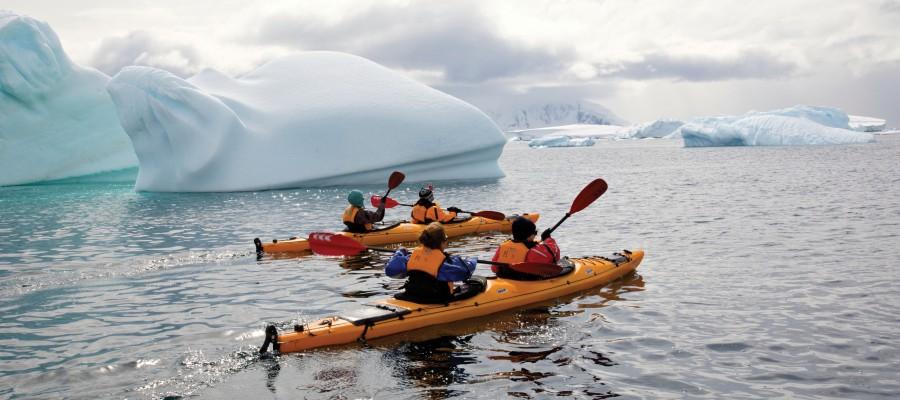 Antarctica - Gen - Hebridean Sky - Double Kayaks